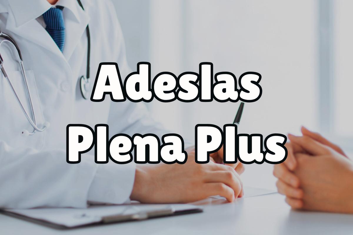Servicios de la póliza de Adeslas Plena Plus