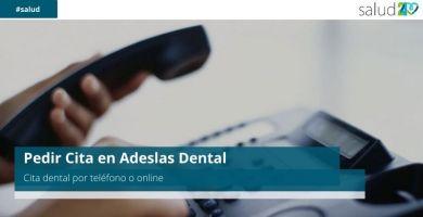 Pedir Cita en Adeslas Dental