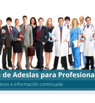 Información de Adeslas para Profesionales