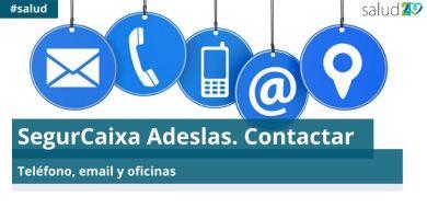 SegurCaixa Adeslas. Contactar