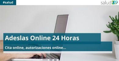 Adeslas Online 24 Horas