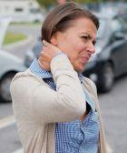 Dolor por un latigazo cervical en un accidente de tráfico