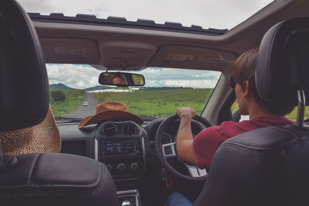 Hijo conduciendo como conductor ocasional